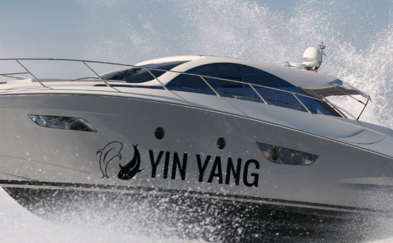 Boat Lettering - Graphics